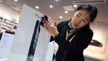 Record China sales for iPhone 5  Apple Inc. sold over 2 million units of its new iPhone 5 in its first weekend on sale in China, a record for the company's smartphone in potentially its biggest market. The news could provide a much needed boost for shares in Apple when the market opens in New York on Monday. The stock has fallen more than 25 per cent in the past three months partly because of concerns that growth in iPhone and iPad sales will not be sustained.