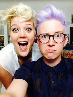 Betty who and Tyler Oakley. Ok i know tyler is a youtuber but he's one of my favs and of course is tots fab :p slay queen! He's the one who introduced me to Betty who technically (he's talked about her and did the humming challenge with her).