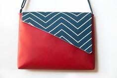 Crossbody fabric bag messenger bag shoulder bag leatherette
