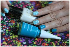 NOTD: Summer combo ~ By Dee make-up and more