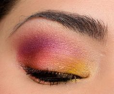 Here's another colorful look using Urban Decay's Full Spectrum palette!