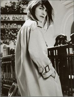 Charlotte Gainsbourg       -pretty handsome.