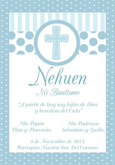 cruz color celeste bautismo - Google Search