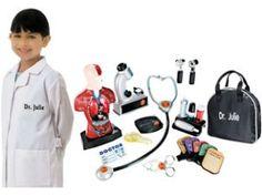 Lillian Vernon: Pretend Play Toys-Toy Medical Kit...