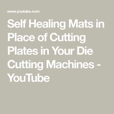 Use your self-healing mat in place of your cutting plates in your die cutting machines. This works in both electronic and manual machines. Here are the sandw. Card Making Tips, Card Making Tutorials, Card Making Techniques, Cuttlebug Dies, Gemini Die Cutting Machine, Die Cut Machines, Embossing Machine, Embossing Folder, Self Healing