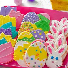Use cookie cutters in spring motifs to make a variety of cute Easter goodies...decoration inspiration only!