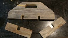 follow your heart woodworking: Tool Tote from old Barn boards