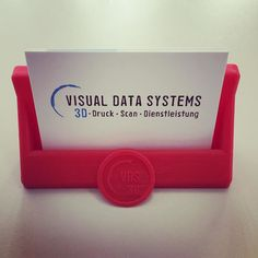 Something we liked from Instagram! Our new business card holder#switzerland #newtechnology #homeprints # #vds #3d #3dprint #3dprinted #3dprint #3dprinter #BQ#Prusa#Witbox#FDM#PLA#Filament#3dscan #3dprinting #card_holder#BUSINESS#businesscards by visual_data_systems check us out: http://bit.ly/1KyLetq