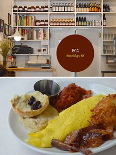 Egg | Farm-to-table breakfast and lunch | Egg famously sources much of its produce from founder/owner George Weld's own Goatfell Farm upstate