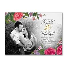 Rosy Bright - Photo Save the Date