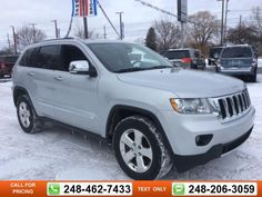 2011 Jeep Grand Cherokee Limited 80k miles $20,493 80647 miles 248-462-7433 Transmission: Automatic  #Jeep #Grand Cherokee #used #cars #GollingChrysler #Waterford #MI #tapcars