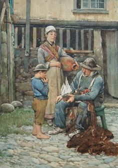 Walter Langley A Nautical Question.