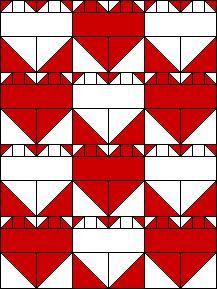 EQuiltBlocks.Com Quilt Square Patterns, Barn Quilt Patterns, Square Quilt, Paint Patterns, Flag Quilt, Quilt Blocks, Quilting Projects, Quilting Designs, Necktie Quilt