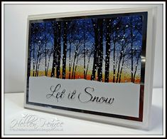 Ellie's Cupboard: Penny Black Snowy Grove                                                                                                                                                                                 More