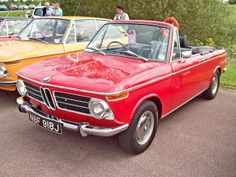 1970 BMW 2002 Convertible ( Engine 1990cc S4 OC )