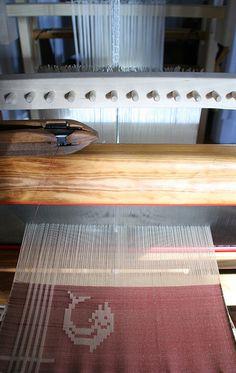 Drawloom handwoven