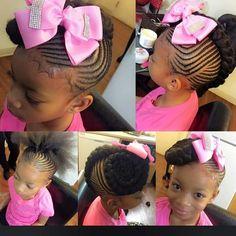 She so cute and her hair cute