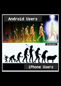My feelings and truth about Androids vs. Apple. Apple is older and says its got more, but the newby Android was built in these ages to go further in current times. Apple good for the past.