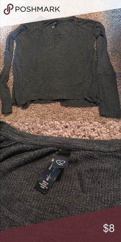 Live Love Dream Long Sleeve Henley 🌸 Welcome and thank you for checking out my closet 🌸  Please read below if you are interested in the item:  All items are 💯% Authentic!   Always open to reasonable offers and possible trades.   🛍 Up for sale: excellent condition. Rayon and spandex. Soft and comfortable. Size large Tops Tees - Long Sleeve