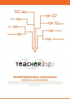 Teacher 2020 Entrepreneurial Education Initiatives and Guidelines handbook  This handbook represents the culmination of the work of the Erasmus+ project Teacher 2020. It offers a series of examples of projects of entrepreneurial education and an explanation of what made them successful. Also, includes reflections derived from the practical initiatives. Using the tool to assess entrepreneurial initiatives and the global framework will help you understand the projects and support you in…