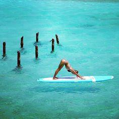 Yoga :: Poses + Workouts :: Mind Body Spirit :: Free your Wild :: See more Untamed Yogi Inspiration Paddle Board Yoga, Pranayama, Ashtanga Yoga, Jivamukti Yoga, Namaste, Rachel Brathen, Sup Stand Up Paddle, Sup Yoga, Beautiful Yoga