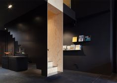 Bazar Noir concept store by Hidden Fortress, Berlin   Germany home decor // floating staircase