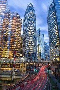 La Défense cityscape   La Defense Business District, Paris, …   Flickr