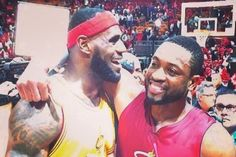 The Cleveland Cavaliers may have lost to the Miami Heat on Christmas, but the friendship between LeBron James and  Dwyane Wade  goes well beyond the basketball court, and one game isn't going to change that...