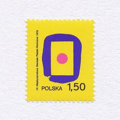 7th International Poster Biennale in Warsaw (1,50). Poland, 1978. Design: Witold Janowski. #mnh #graphilately