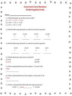 Multiplying Decimals Worksheet  TwoDigit By TwoDigit With