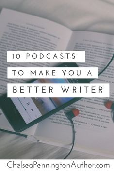 10 podcasts to make you a better writer. Starting something new is always scary. Writing may be your forte but listening to these 10 podcasts will help you grow and develop your writing skills. Book Writing Tips, Writing Process, Writing Resources, Blog Writing, Writing Help, Writing Skills, Writer Tips, Quotes About Writing, Better Writing