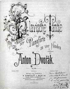 Slavonic Dances - Wikipedia, the free encyclopedia