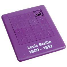 Braille slide puzzle!