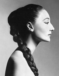 "sendommager: ""Jacqueline de Ribes photographed by Richard Avedon, New York, December 1955. """