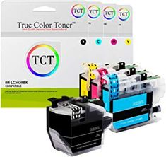 LONG LASTING INK CARTRIDGES. Print up to an approximate 3,000 pages per Black cartridge, and 1,500 per Color cartridge. MANUFACTURED TO PRINT JUST LIKE THE OEM VERSION. All of TCTs Ink cartridges are designed to be easily installed, and print just like the OEM version. The only thing that changes is the price! Brother Mfc, Ink Cartridges, True Colors, Oem, Printer, It Works, Black, Black People, Printers
