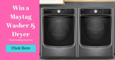 Go 2 http://woobox.com/gx9rme/isl27j for the Maytag Washer & Dryer #giveaway from Toasty Egg!