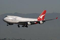 https://flic.kr/p/aApLvp   Qantas Airlines, Boeing 747-400   Boeing 747-400 Qantas Airlines LAX Oct. 29, 2011