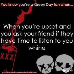 So you like Green Day, huh? We only hope to fill your dashboards with everything Green Day related. Don't be afraid to drop by our ask and talk to us or submit a perk/problem/Green Day joke to us! We love that shit. Great Bands, Cool Bands, Punk Rock, 21st Century Breakdown, American Idiot, When You Believe, Billie Joe Armstrong, Band Memes, Band Quotes