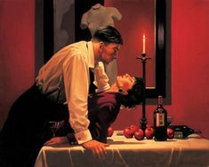 The-Party's-Over- - Jack Vettriano