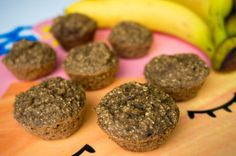 Kids Healthy Snack: Bananan Havermout Muffin / Kids en Baby Proof: Bananen Havermout Muffins – Babies Kitchen