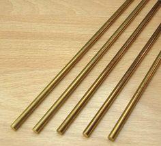 Brass rods - for inset island bar: Alan Richards, NY