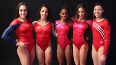 The Girls are ready and they look strong! Media Day With The U.S. Women's #Olympic Team - #Gymnastics Slideshows | NBC Olympics