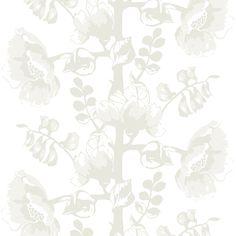 Silkkisuukko white by Saara Kurkela - Wallpapers / Tapetit