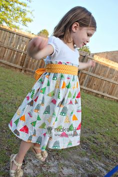 Re-Purposing: T-Shirt into Dress |