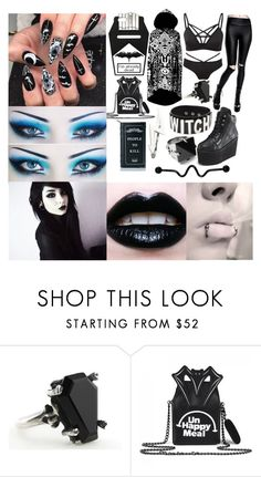 """""""Gravity by Papa Roach"""" by xqueenofthedeadx ❤ liked on Polyvore featuring Harlot and Killstar"""