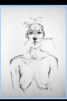 "Alberto Giacometti - ""Bust II"", 1960 - Lithograph - 380 x 280 mm (*)"