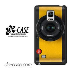 Lemon Yellow Leica Camera DEAL-6420 Samsung Phonecase Cover For Samsung Galaxy Note Edge