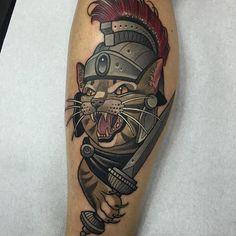 Neo Traditional Tattoo by Rodrigo Kalaka NeoTraditional NeoTraditionalTattoos…