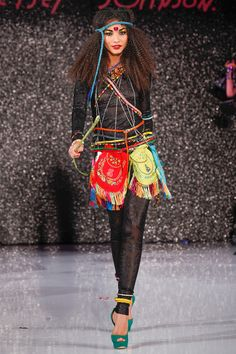 Betsey Johnson Spring 2013 Ready-to-Wear Collection Slideshow on Style.com TIGHTS
