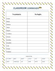 Back To School -TPR Classroom Commands in Spanish! Enter for your chance to win. Back to School- Spanish Classroom Commands- Play Simon Says in Spanish- Simon Dice  (3 pages) from La Señora H on TeachersNotebook.com (Ends on on 06-17-2015) Awesome freebie to begin building your TPR Commands in your classroom. .